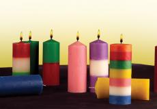 ✓ Velones y velas de bujía